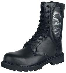 Black Grain Leather