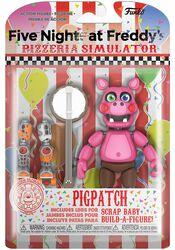 Pizza Simulator - Pigpatch Actionfigur