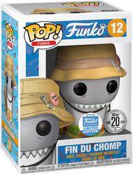 Spastik Plastik - Fin Du Chomp (Funko Shop Europe) vinylfigur 12
