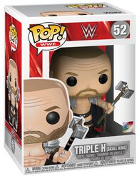 Triple H (Skull King) (Chase Edition mulig) Vinylfigur 52