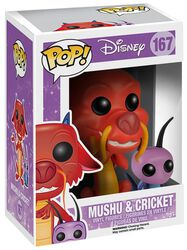 Mushu and Cricket Vinylfigur 167