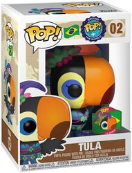 Around the World - Tula (POP and Pin) (Brazil) (Funko Shop Europe) Vinyl Figure 02