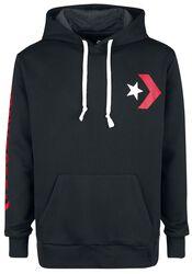 Star Chevron Graphic Pullover Hoodie