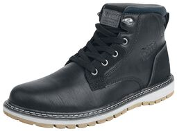 Black Casual Boot