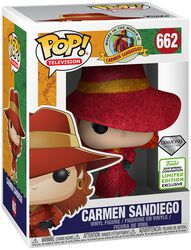 Where in the World is Carmen Sandiego? ECCC 2019 - Carmen Sandiego vinylfigur 662