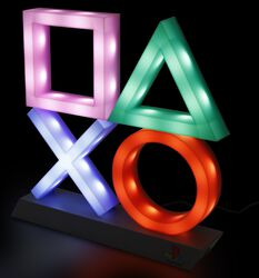 Playstation Icons Lampe