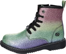 Regnbue Glitter Boots