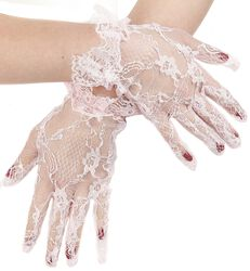Short Brocade Gloves