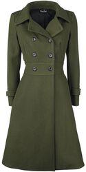 Martha 40s Longline Coat