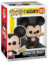 Mickey's 90th Anniversary - Conductor Mickey Vinylfigur 428