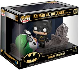 80th - Batman (1989) Batman vs. The  Joker (Movie Moments) Vinylfigur 280
