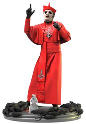 Cardinal Copia (Red Cassock) Rock Iconz Statue