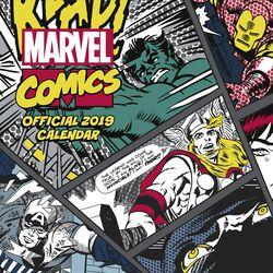 Classic Comics - 2019 Wall Calendar