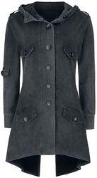Front Button Sweat Coat