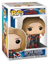 Captain Marvel (Chase Edition mulig) Vinylfigur 425