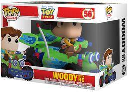 Woody with RC POP! Rides Vinylfigur 56