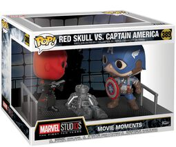 Red Skull vs. Captain America (Movie Moments) VInylfigur 389