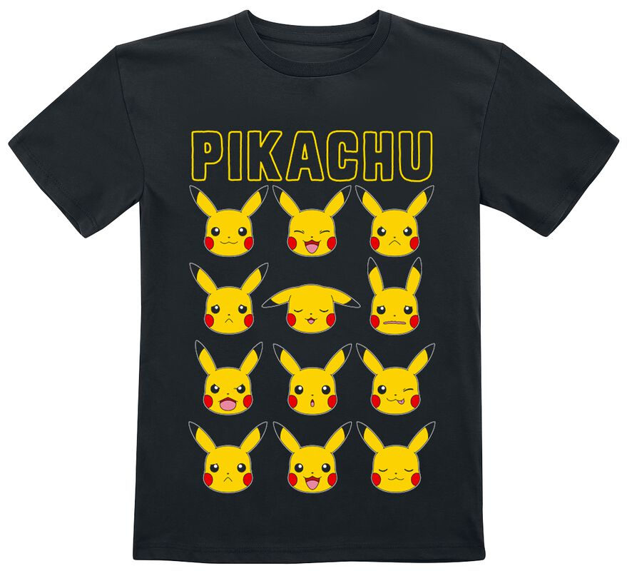 Pikachu - Faces