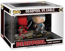 Deadpool vs. Cable (Movie Moments) Vinylfigur 318