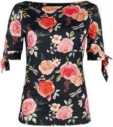 Rosabeth Floral Knit Top