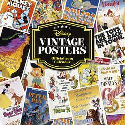 Wall Calendar 2019 - Vintage Posters