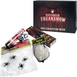 Halloween Freakshow Decoration Box