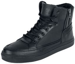 Zipper High Top Sko