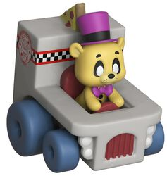 Super Racers  - Golden Freddy Vinylfigur